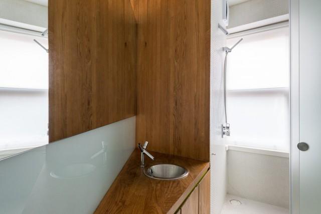 Cách bố trí không gian hợp lý trong căn hộ nhỏ nhiều góc cạnh - Ảnh 10.