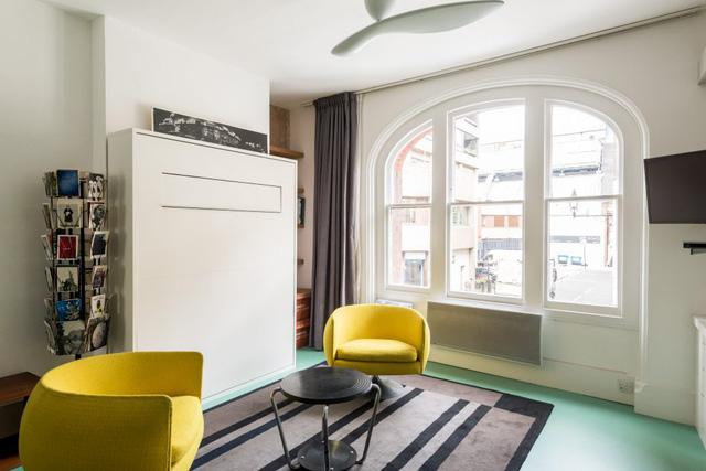 Cách bố trí không gian hợp lý trong căn hộ nhỏ nhiều góc cạnh - Ảnh 3.