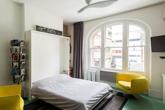 Cách bố trí không gian hợp lý trong căn hộ nhỏ nhiều góc cạnh - Ảnh 4.