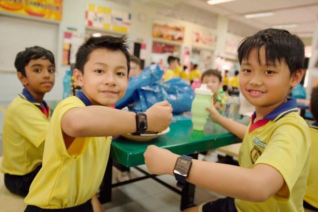 Đồng hồ đeo tay thông minh cho học sinh tiểu học ở Singapore - Ảnh 1.