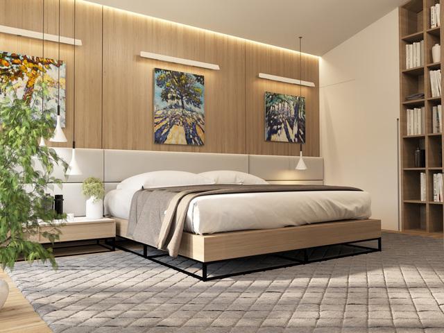 Những gợi ý cho phòng ngủ vừa sang trọng vừa hiện đại với nội thất bằng gỗ - Ảnh 16.