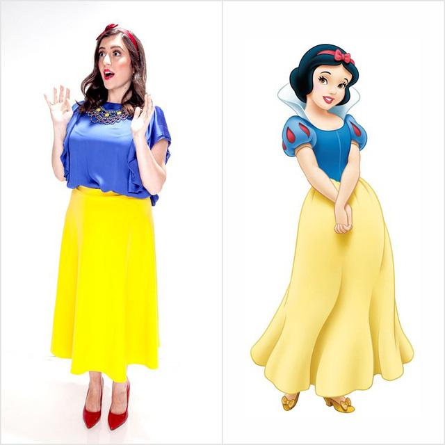Mượn hình tượng công chúa Disney để có trang phục dạ tiệc nổi bật - Ảnh 8.