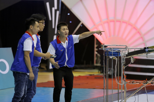 VCK Robocon Việt Nam 2017: Nhìn lại những hình ảnh ở hai bảng đấu tử thần - Ảnh 40.