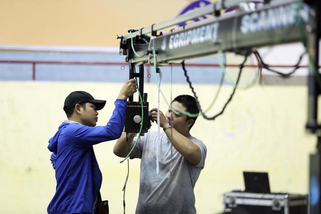 Những hình ảnh hậu trường hiếm người biết tại vòng loại Robocon Việt Nam 2017 - Ảnh 5.