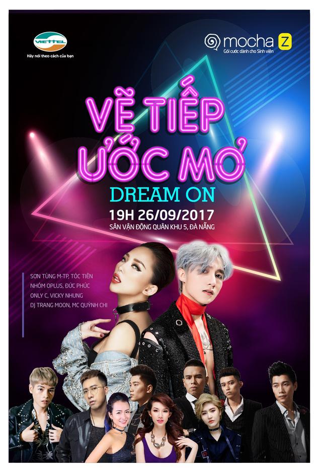 Sơn Tùng M-TP vẽ tiếp ước mơ trong Đại nhạc hội lớn tại Đà Nẵng - Ảnh 1.
