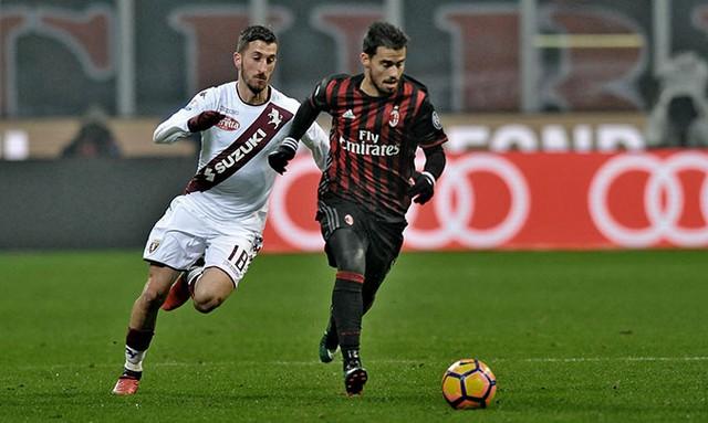 AC Milan 2-1 Torino: Chủ nhà ngược dòng vào tứ kết - Ảnh 1.