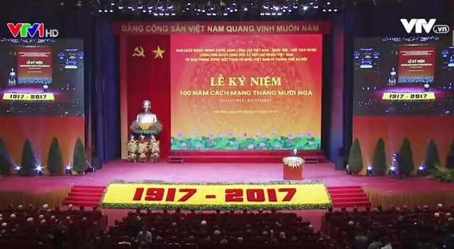 Long trọng kỷ niệm 100 năm Cách mạng tháng Mười Nga - Ảnh 1.