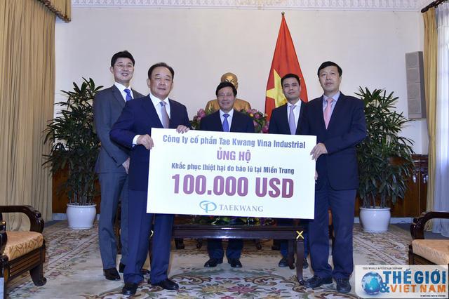 Tập đoàn Taekwang báo cáo PTTg Phạm Bình Minh về nhà máy nhiệt điện Hải Hậu - Ảnh 1.