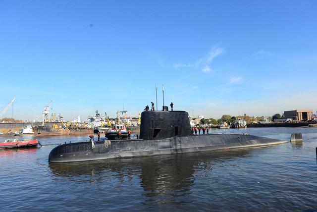 Hy vọng mong manh tìm thấy tàu ngầm Argentina - Ảnh 1.