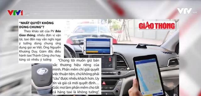 Tất cả một số hãng taxi sẽ dùng chung 1 phần mềm gọi taxi? - Ảnh 1.