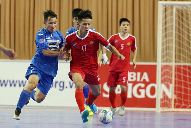 Thái Sơn Nam thắng đậm trong ngày khởi tranh giai đoạn lượt về giải futsal VĐQG HD Bank 2017 - Ảnh 1.