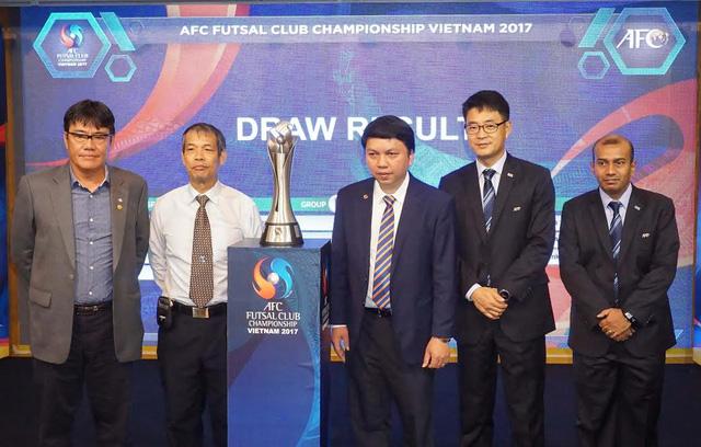 Bốc thăm giải Futsal châu Á 2017: CLB Thái Sơn Nam dễ thở - Ảnh 1.