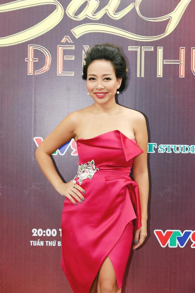 Sài Gòn đêm thứ 7: Thảo Trang trải lòng về cuộc sống sau khi sinh con - Ảnh 1.