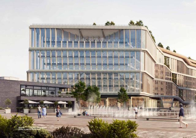 Lộ hình ảnh trụ sở mới đẹp như mơ của Google tại London - Ảnh 12.