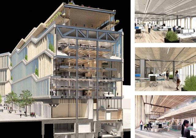 Lộ hình ảnh trụ sở mới đẹp như mơ của Google tại London - Ảnh 11.