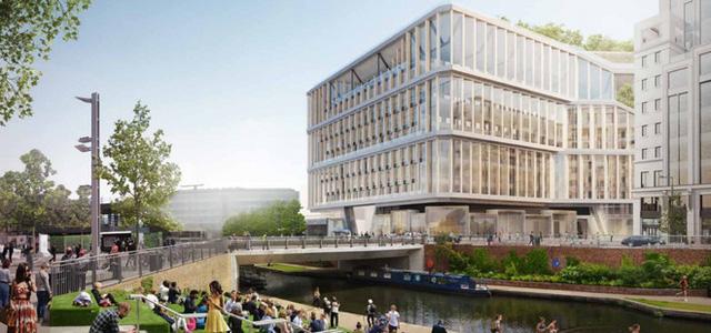 Lộ hình ảnh trụ sở mới đẹp như mơ của Google tại London - Ảnh 8.