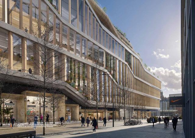Lộ hình ảnh trụ sở mới đẹp như mơ của Google tại London - Ảnh 7.