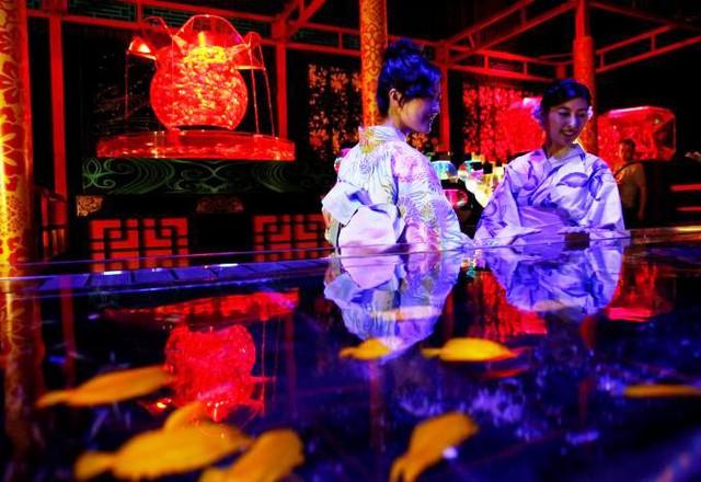 Triển lãm thủy cung nghệ thuật độc đáo ở Tokyo, Nhật Bản - ảnh 8