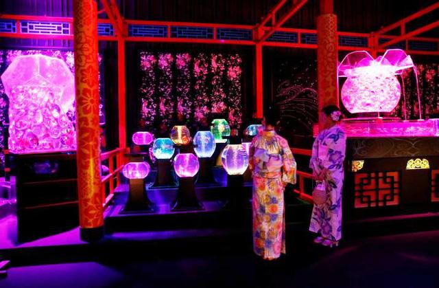 Triển lãm thủy cung nghệ thuật độc đáo ở Tokyo, Nhật Bản - ảnh 7