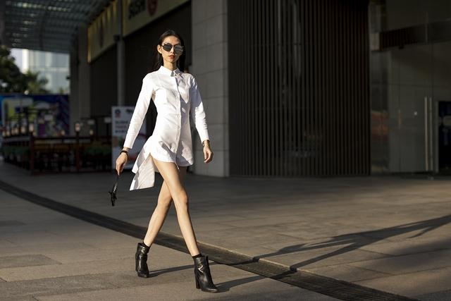 Xuống phố chất lừ như dàn người mẫu Vietnams Next Top Model - Ảnh 3.