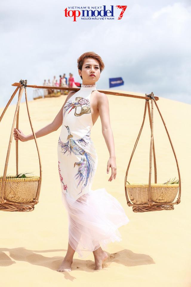 Vietnams Next Top Model 2017: Cô nàng lắm chiêu Thùy Trâm trở lại, quyết tâm thay đổi hình ảnh - Ảnh 2.
