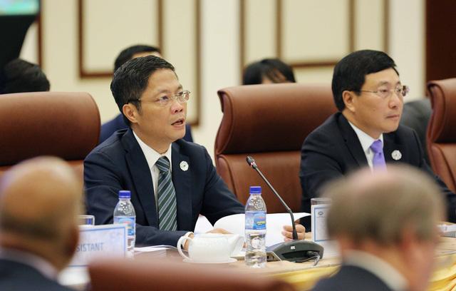 Kết thúc ngày 1 Hội nghị liên Bộ trưởng Ngoại giao – Kinh tế APEC lần thứ 29 - Ảnh 2.