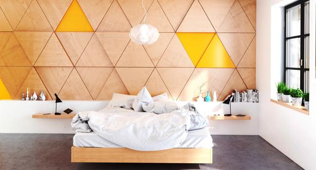 Những gợi ý cho phòng ngủ vừa sang trọng vừa hiện đại với nội thất bằng gỗ - Ảnh 15.