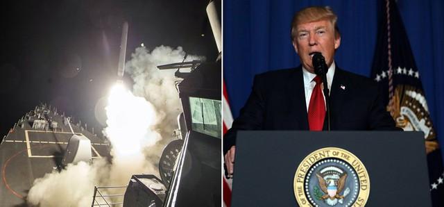 Không kích Syria: Ông Trump đẩy nước Mỹ vào một cuộc chiến nguy hiểm? - Ảnh 1.