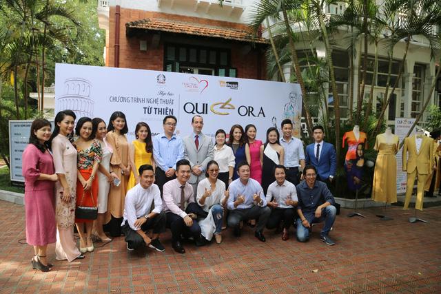 Chương trình nghệ thuật từ thiện QUI E ORA: Chung tay vì trẻ em mắc bệnh tim bẩm sinh - Ảnh 4.