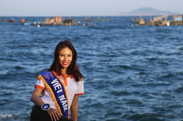Thí sinh Hoa hậu Hữu nghị ASEAN rạng rỡ khoe sắc ở Ghềnh Đá Dĩa ảo diệu - Ảnh 10.