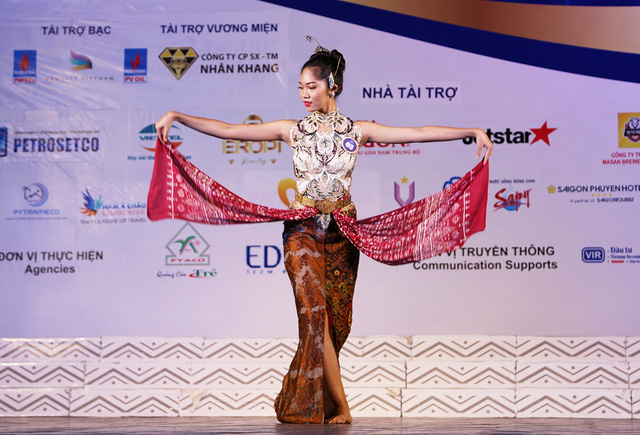 Ấn tượng trước tài năng của thí sinh Hoa hậu Hữu nghị ASEAN - Ảnh 3.