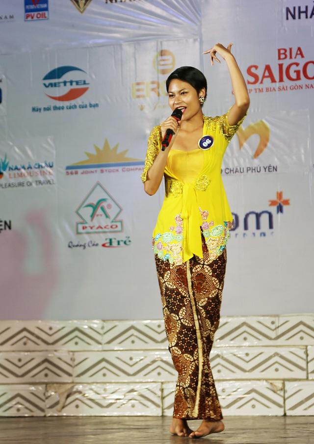 Ấn tượng trước tài năng của thí sinh Hoa hậu Hữu nghị ASEAN - Ảnh 6.