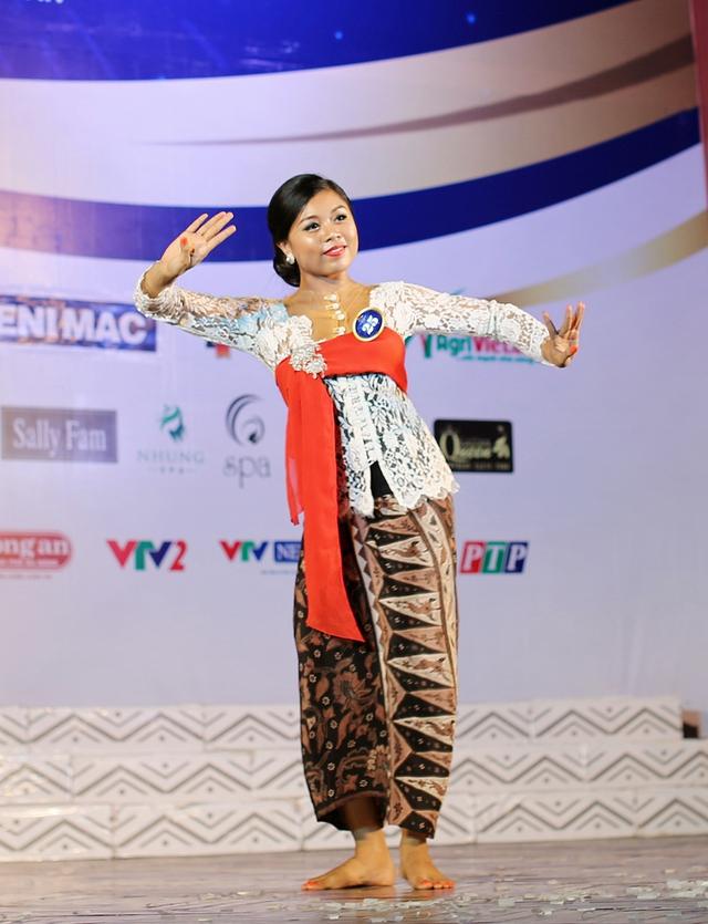 Ấn tượng trước tài năng của thí sinh Hoa hậu Hữu nghị ASEAN - Ảnh 7.