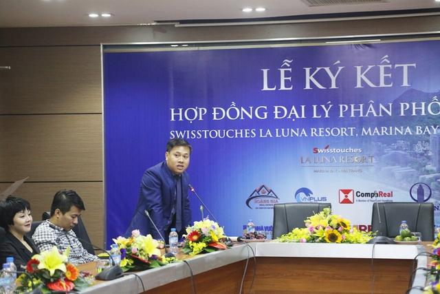Ký kết hợp đồng đại lý phân phối Dự án Swisstouches La Luna Resort, Marina Bay Nha Trang - Ảnh 1.