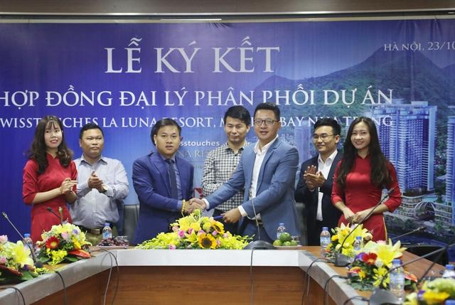 Ký kết hợp đồng đại lý phân phối Dự án Swisstouches La Luna Resort, Marina Bay Nha Trang - Ảnh 2.