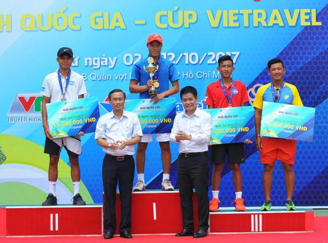 Phạm Minh Tuấn vô địch đơn nam giải quần vợt VĐQG 2017 - Ảnh 3.