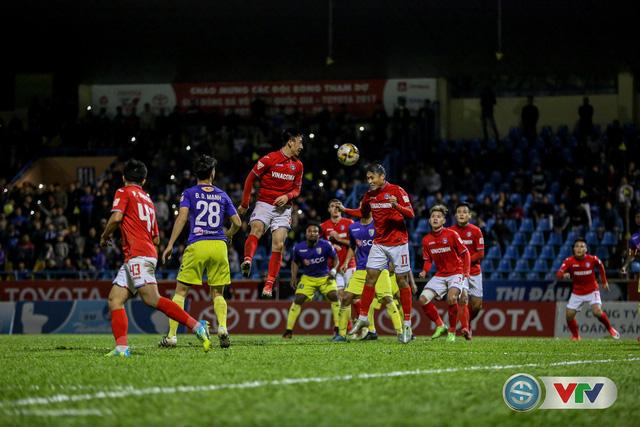 ẢNH: CLB Hà Nội đánh rơi chức vô địch trên sân Cẩm Phả - Ảnh 8.