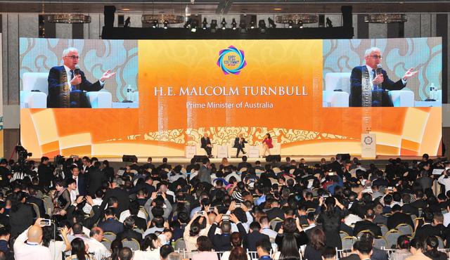 Ngày 3 APEC CEO Summit 2017 bàn về sử dụng hiệu quả tài nguyên và phát triển bền vững - Ảnh 1.