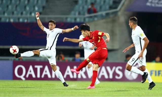 Ảnh: Những khoảnh khắc lịch sử trong trận đấu U20 Việt Nam 0-0 U20 New Zealand - Ảnh 2.
