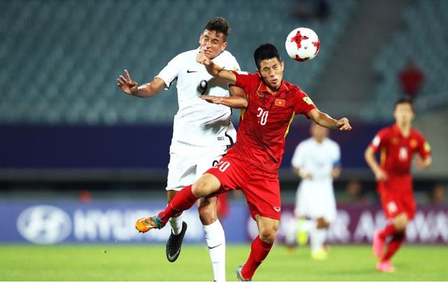 Ảnh: Những khoảnh khắc lịch sử trong trận đấu U20 Việt Nam 0-0 U20 New Zealand - Ảnh 8.