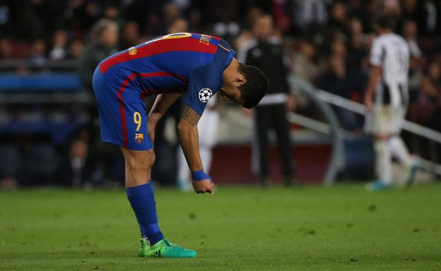 Chùm ảnh: Các cầu thủ Barcelona gục ngã nhìn Juventus vào bán kết - Ảnh 7.