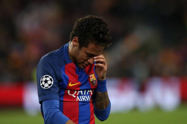Chùm ảnh: Các cầu thủ Barcelona gục ngã nhìn Juventus vào bán kết - Ảnh 6.