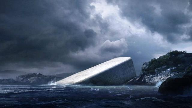 Nhà hàng dưới biển đầu tiên của châu Âu tại Na Uy - Ảnh 3.