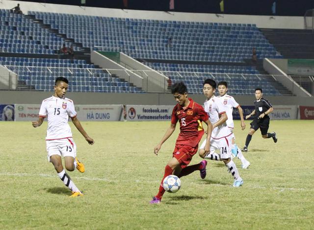 VIDEO: Tổng hợp trận đấu U15 Việt Nam 0-0 U15 Myanmar - Ảnh 1.
