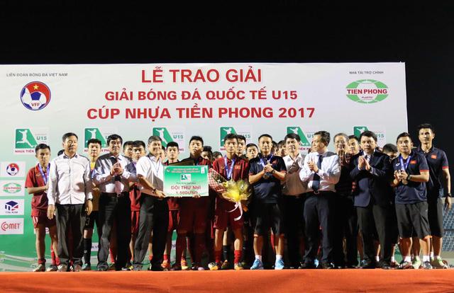VIDEO: Tổng hợp trận đấu U15 Việt Nam 0-0 U15 Myanmar - Ảnh 2.