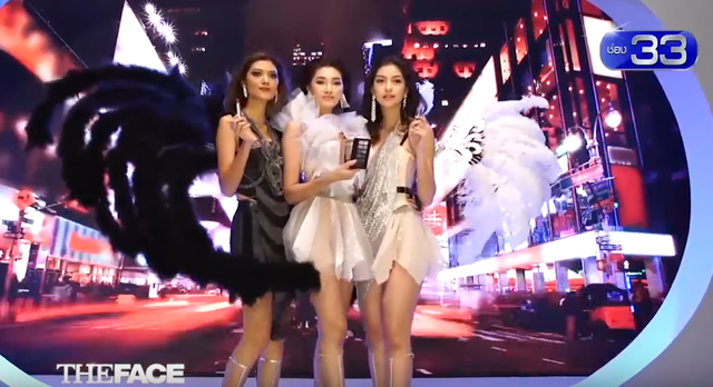 The Face Thái Lan gây bão với tạo hình Victorias Secret - Ảnh 1.
