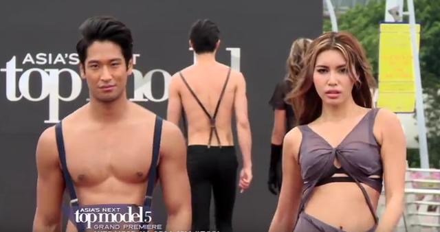 Đại diện Việt Nam ngất xỉu bên trai đẹp ở Asias Next Top Model - Ảnh 2.