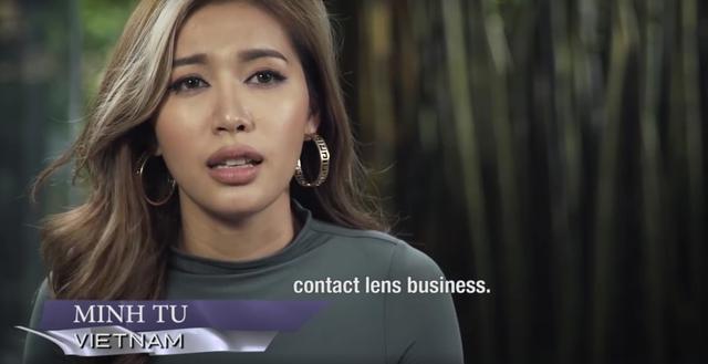 Minh Tú Top Model: Tôi làm người mẫu không hẳn là vì tiền - Ảnh 2.