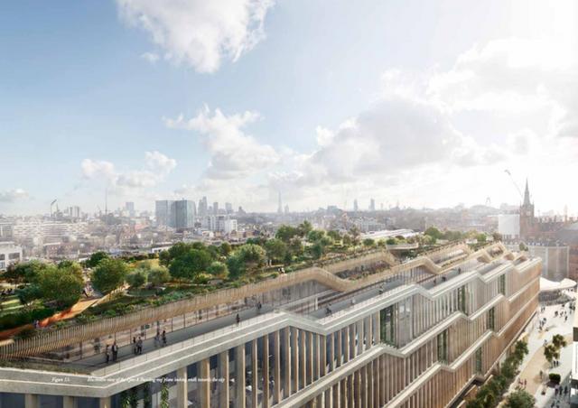 Lộ hình ảnh trụ sở mới đẹp như mơ của Google tại London - Ảnh 6.