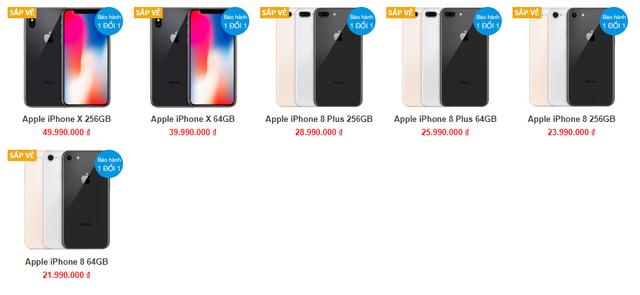 iPhone X được chào bán ở mức gần 50 triệu đồng tại Việt Nam - Ảnh 1.